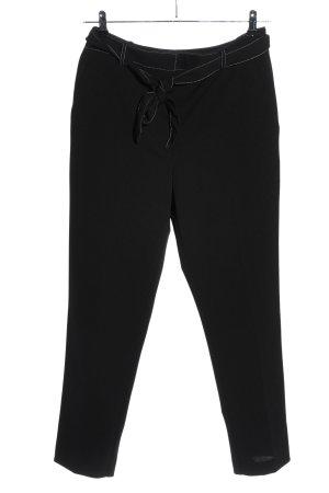 DKNY Pantalon en jersey noir style décontracté