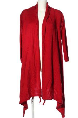 DKNY Cardigan tricotés rouge style décontracté