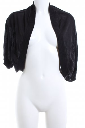 DKNY Knitted Bolero black business style
