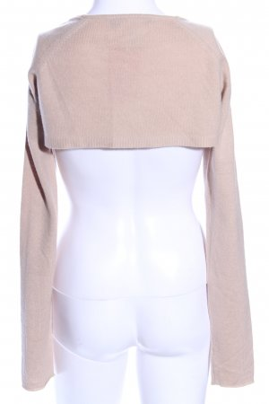 DKNY Knitted Bolero nude casual look