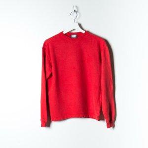DKNY Felpa rosso Cotone