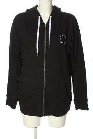 DKNY Sweat Jacket black casual look