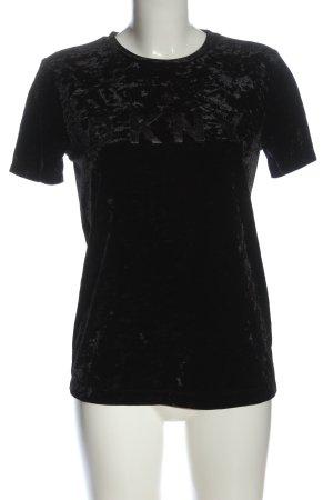 DKNY Camiseta negro look casual