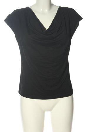 DKNY T-shirt noir style décontracté