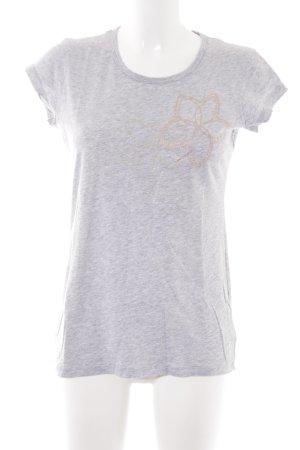 DKNY T-Shirt hellgrau Schriftzug gedruckt