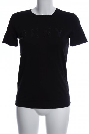 DKNY T-Shirt schwarz Casual-Look
