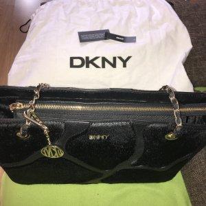 DKNY Sac porté épaule noir cuir
