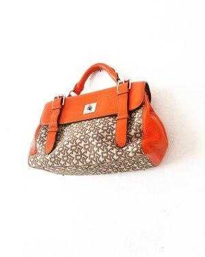 DKNY • tasche • handtasche • beige • braun • orange