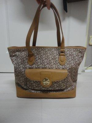 DKNY Tasche in beigegelb/braun