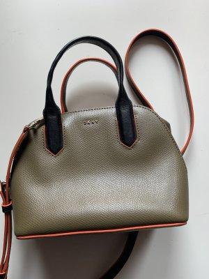 DKNY Tasche Umhängetasche Handtasche Mini Khaki Neuwertig NP 149€