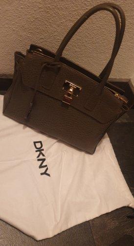 DKNY Torebka typu tote szaro-brązowy