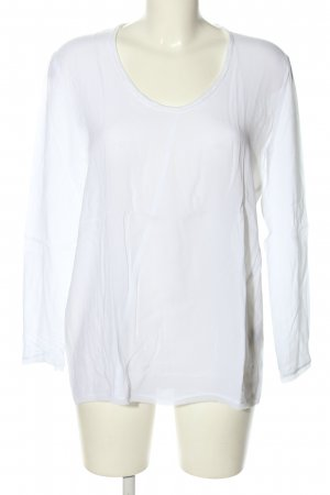 DKNY Transparenz-Bluse weiß Casual-Look