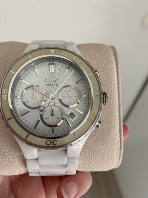 DKNY Analog Watch white-silver-colored