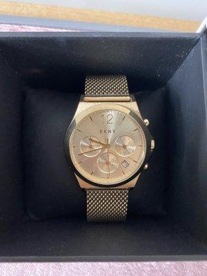 DKNY Horloge met metalen riempje goud