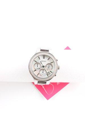 DKNY Uhr mit Metallband silberfarben Casual-Look