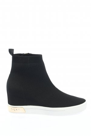"DKNY Wedge Sneaker ""Calie"" black"