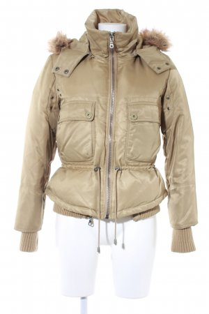 DKNY Winterjacke sandbraun Casual-Look