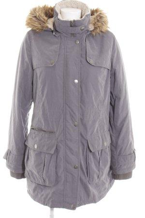 DKNY Manteau d'hiver gris clair style décontracté