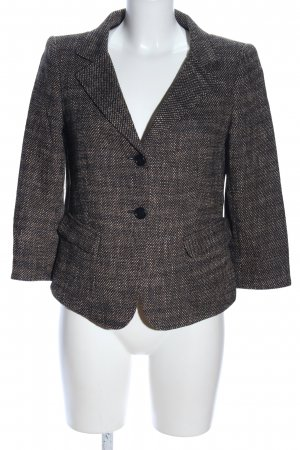 DKNY Woll-Blazer Allover-Druck Business-Look