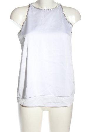 DKNYC ärmellose Bluse weiß Casual-Look