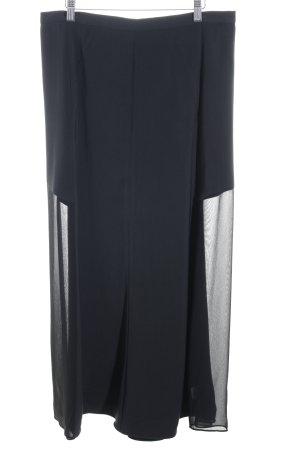 DKNY Falda larga azul oscuro look casual