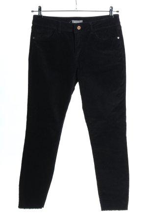 Dl1961 Pantalón de pana negro look casual