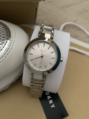 DKNY Self-Winding Watch silver-colored