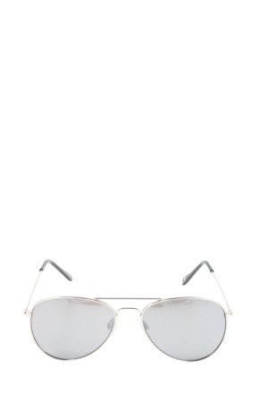 DM Occhiale da pilota grigio chiaro-nero stile casual