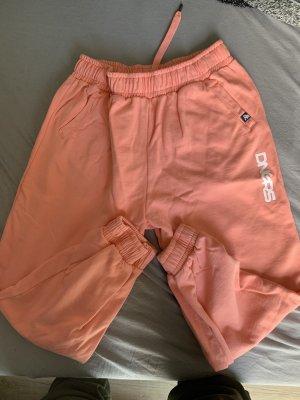 Pantalón deportivo albaricoque-salmón