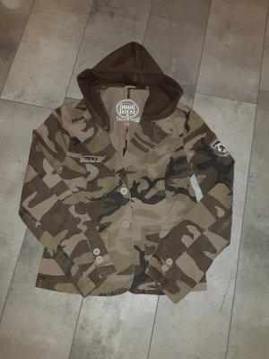 9886 DNM Vintage Wear Blazer en jersey multicolore