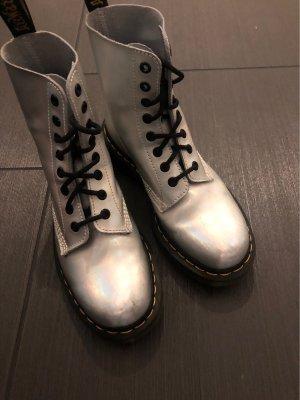 Dr. Martens Chelsea laarzen zilver