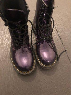 Dr. Martens Chelsea laarzen donkerpaars