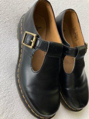Doc Martens Slip-on Sneakers black-gold orange