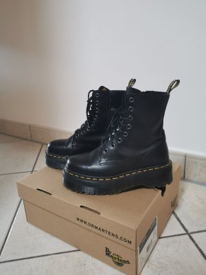 Doc Martens Platform Boots black leather