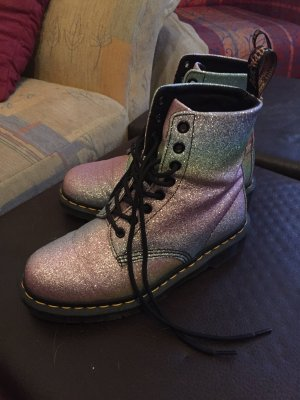 Doc Martens Rainbow Glitter Holo Docs