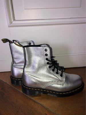 Doc Martens Aanrijg laarzen zilver