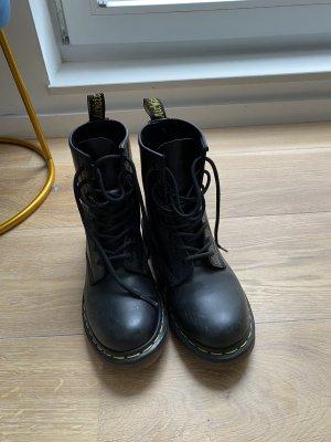 Doc Martens Gotyckie buty czarny