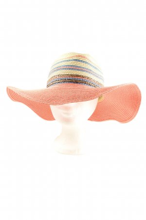 Doca Straw Hat striped pattern casual look