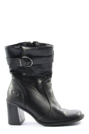 Dockers Absatz Stiefel schwarz Casual-Look