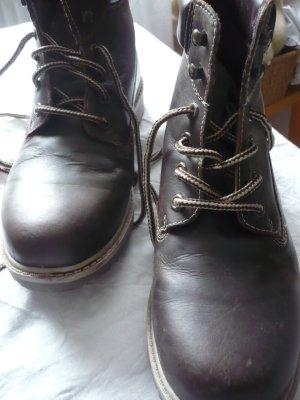 Dockers Desert Boots dark brown leather