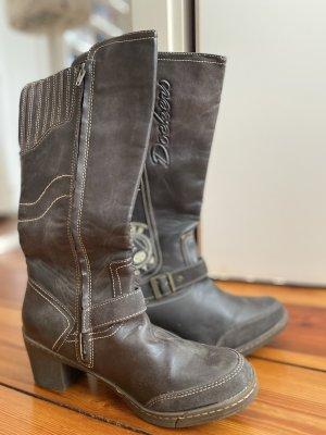 Dockers Western Boots brown-beige