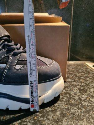 Catwalk Platform Boots blue
