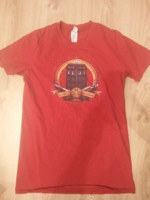 Doctor Who Tardis Shirt Rot S