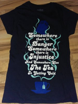 Doctor Who Top Xs 34 ( LS) SOmewhere Danger Injustice and the Tea getting cold