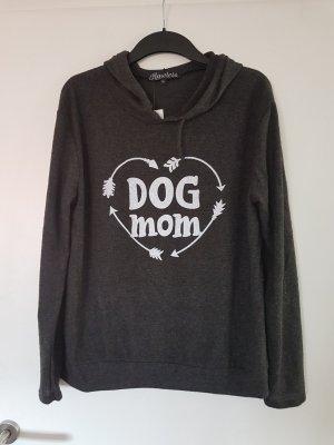 Hooded Sweater dark grey