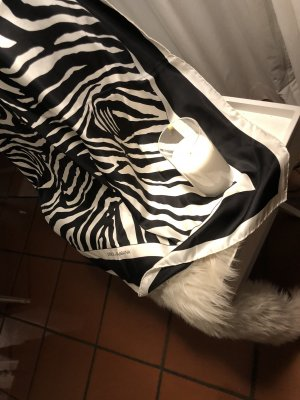 Dolce & Gabbana Zijden sjaal zwart-wit