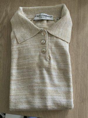 Dolce & Gabbana Camiseta beige claro-beige Viscosa