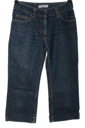 Dolce & Gabanna 3/4 Jeans blau Casual-Look
