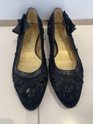 Dolce & Gabbana Strappy Ballerinas black