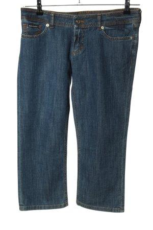 Dolce & Gabbana Jeans 3/4 bleu style décontracté